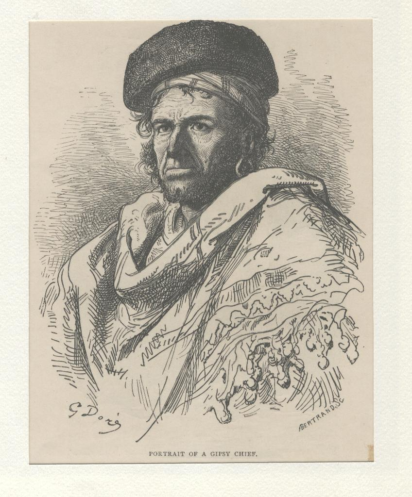 PORTRAIT OF A GIPSY CHIEF