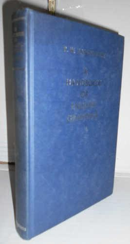 A HANDBOOK OF ENGLISH GRAMMAR. 8ª new editions. Preface of the author. Texto en inglés